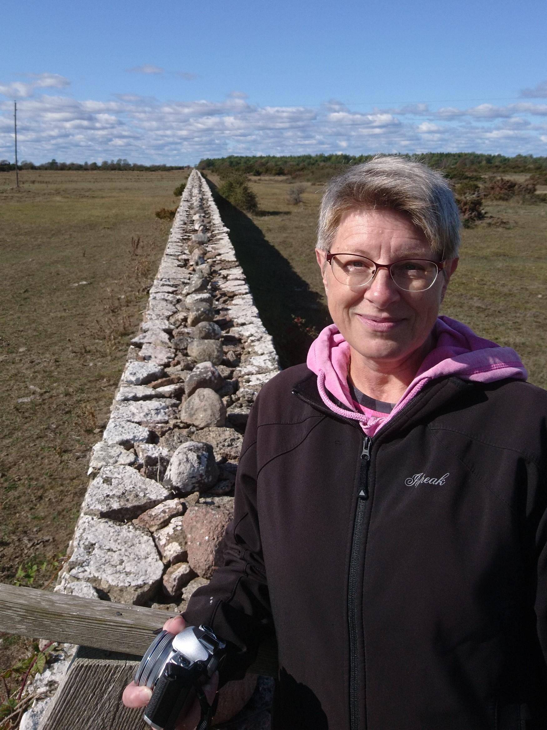 Marie Sandberg 2014-11-16. Ätrafors Lv-tornet Marie Sandberg lu